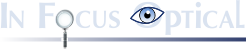 In Focus Optical logo