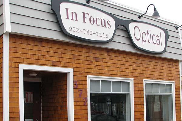 In Focus Optical store front